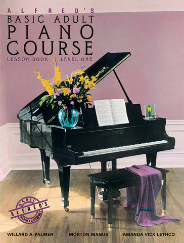 Alfred's Basic Adult Piano Course: Lesson Book, Level 1 (w/CD) - Piano Method
