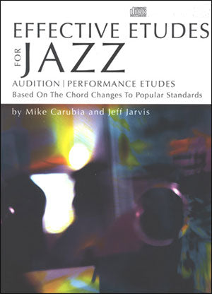 Jarvis and Caruba - Effective Etudes for Jazz, Vol. 1 - Jazz Trombone Method