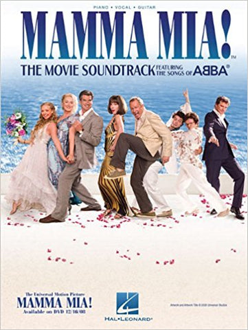 ABBA - Mamma Mia!: The Movie - Piano, Vocal, Guitar