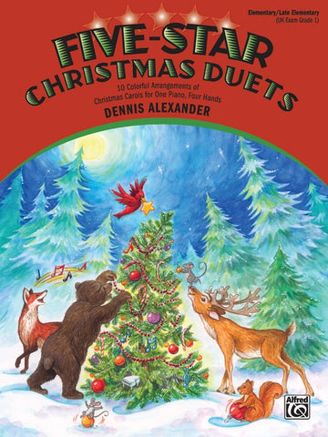 Alexander, arr. - Five Star Christmas Duets - Easy Piano, 4 Hands