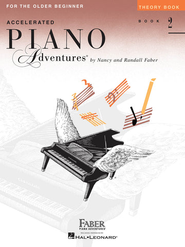 Accelerated Piano Adventures Level 2: Theory - Piano Method