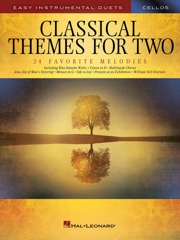 Deneff, arr. - Classical Themes for Two: 24 Favorite Melodies - 2 Cellos