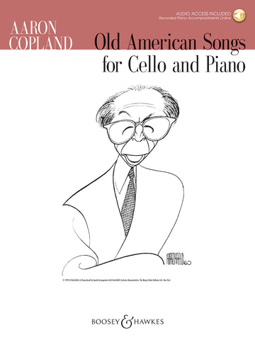 Copland - Old American Songs - Cello and Piano