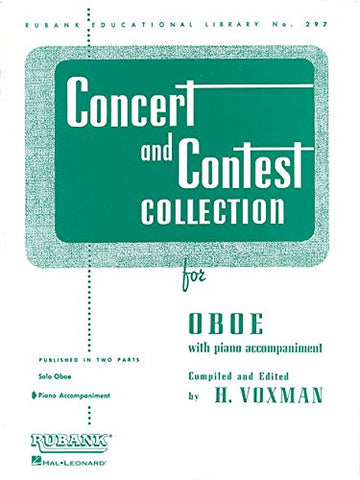 arr. Voxman - Concert and Contest Collection - Oboe and Piano