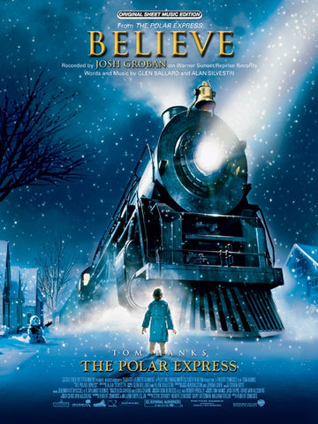 "Ballard and Silvestri - Believe from ""The Polar Express"" - Piano, Vocal, Guitar"