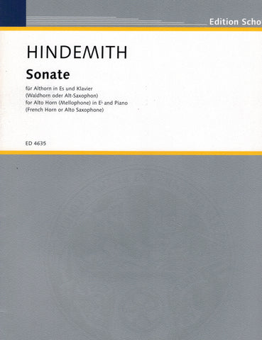 Hindemith - Sonata - French Horn (or Alto Saxophone) and Piano