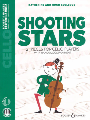 Colledge – Shooting Stars: 21 Pieces for Cello Players – Cello and Piano