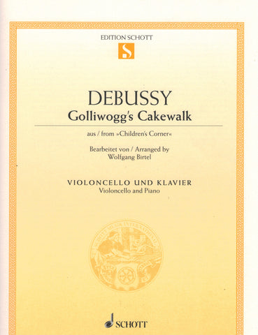 Debussy - Golliwogg's Cakewalk From Children's Corner - Cello and Piano