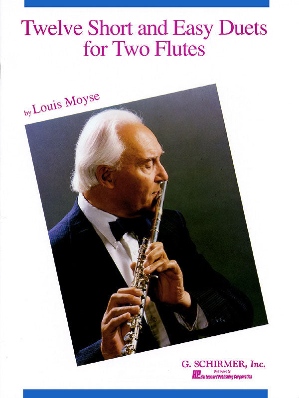 Moyse – Twelve Short and Easy Duets – 2 Flutes