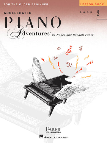 Accelerated Piano Adventures Level 2: Lesson - Piano Method
