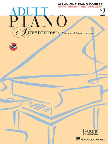Adult Piano Adventures: All-In-One, Vol. 2 - Piano Method