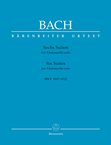 Bach (ed. Andrew Talle) - Six Suites for Violoncello Solo, BWV 1007-1012 - Cello Solo