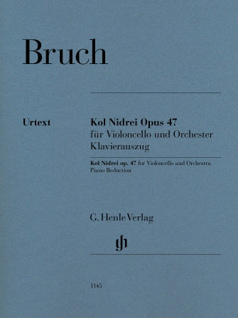 Bruch - Kol Nidrei, Op. 47 - Cello and Piano