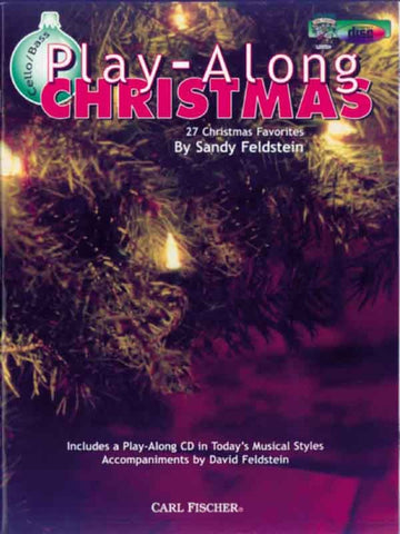 Feldstein, arr. - Play-Along Christmas (w/CD) - Cello or Bass Solo