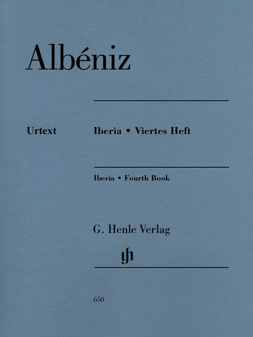 Albeniz – Iberia: Fourth Book – Piano