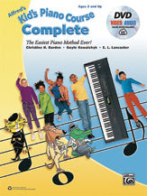 Alfred Kid's Piano Course: Complete (w/DVD and Audio Access) - Piano Method