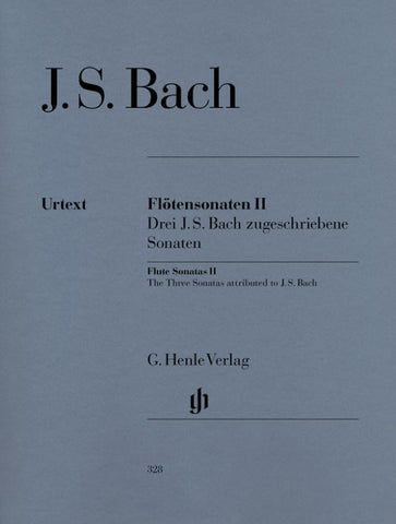 Bach, ed. Eppstein – Flute Sonatas, Vol. 2 – Flute and Piano