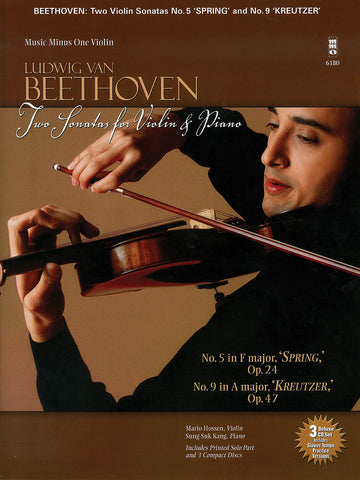 Beethoven – Two Sonatas for Violin and Piano (w/CD) – Violin and Piano