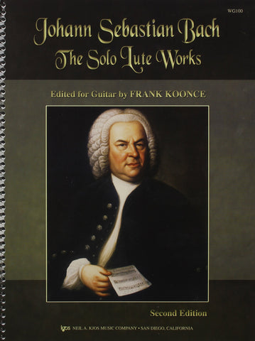 Bach, ed. Koonce - The Solo Lute Works (2nd Edition) - Guitar Solo