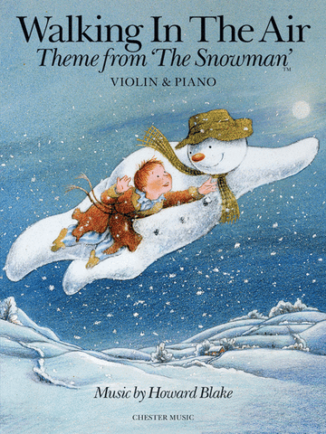 "Blake - Walking In the Air from ""The Snowman"" - Violin and Piano"