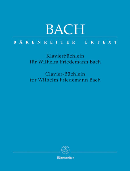 Bach - Notebook for Wilhelm Friedemann Bach - Piano