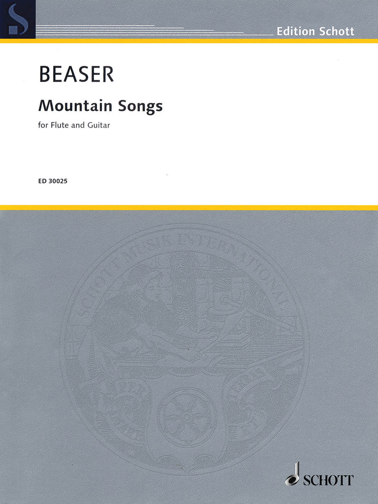 Beaser - Mountain Songs - Flute and Guitar
