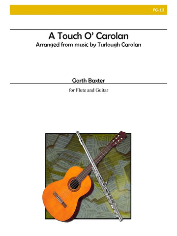 Baxter, ed. Kirkpatrick - Touch of O'Carolan - Guitar and Flute