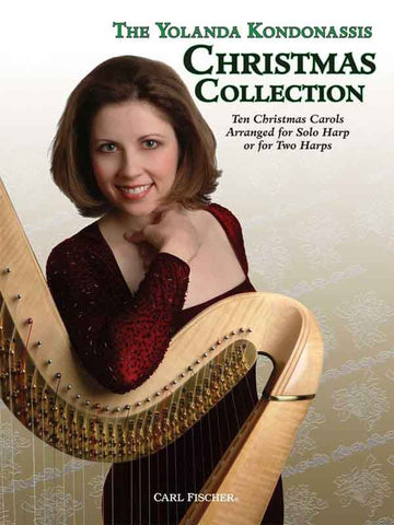 Kondonassis - The Yolanda Kondonassis Christmas Collection for Harp - Harp or 2 Harps