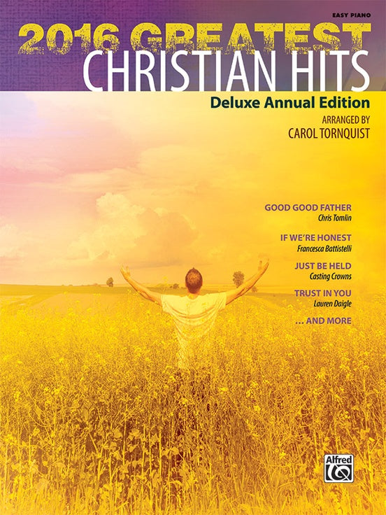 Tornquist, arr. – 2016 Greatest Christian Hits – Easy Piano