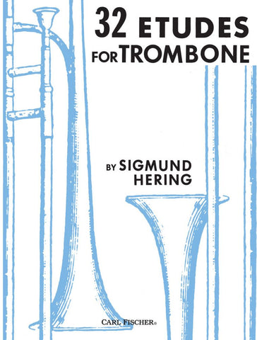 Hering- 32 Etudes for Trombone - Trombone Method