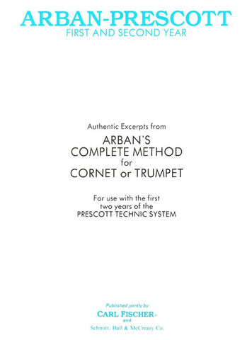 Arban and Prescott - Complete First and Second Year - Trumpet Method