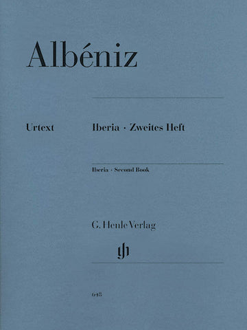 Albeniz – Iberia: Second Book – Piano