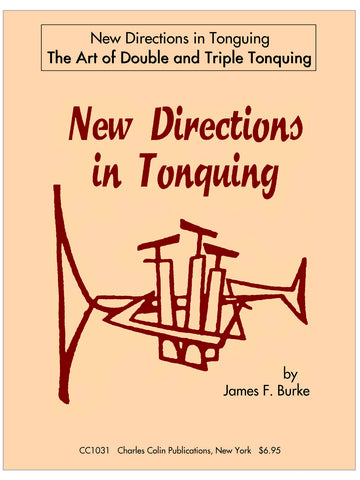 Burke - New Directions in Tonguing - Trumpet Method