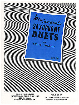 Niehaus - Jazz Conception for Saxophone: Duets (w/CD) - Saxophone Duet