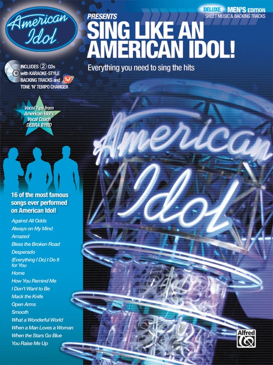 Various – Sing Like an American Idol: Deluxe Men's Edition (w/CD) – Piano,  Vocal, Guitar