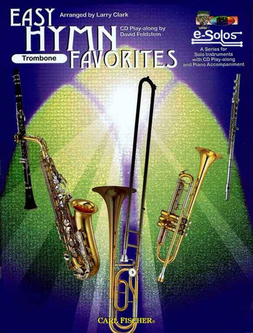 Clark, arr. - Easy Hymn Favorites (w/CD) - Trombone Solo