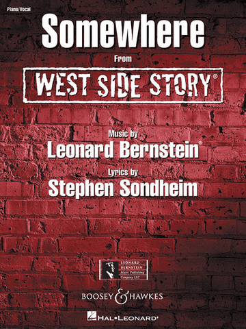 "Bernstein and Sondheim - Somewhere from ""West Side Story"" - Voice and Piano"