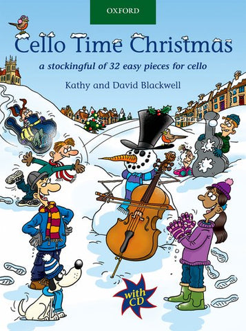 Blackwell and Blackwell - Cello Time: Christmas! (w/CD) - Easy Cello