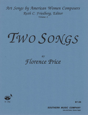Art Songs by American Women Composers, Vol. 2: Two Songs by Florence Price - Vocal