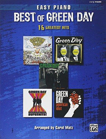 Armstrong et al., arr. Matz - The Best of Green Day - Easy Piano
