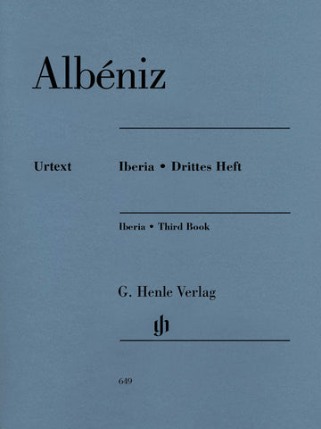 Albeniz – Iberia: Third Book – Piano
