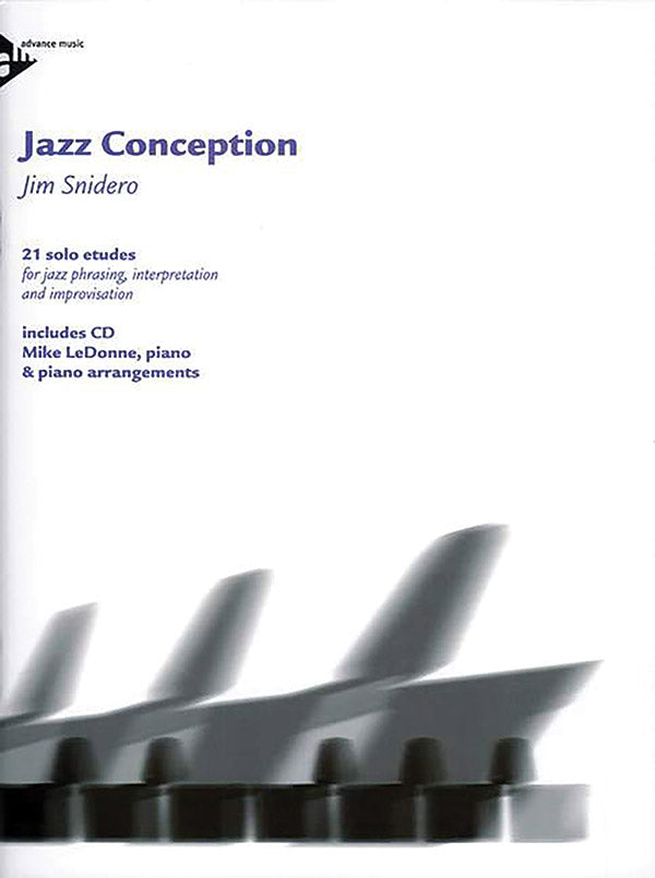 Snidero - Jazz Conception: Piano (w/CD) - Piano Method