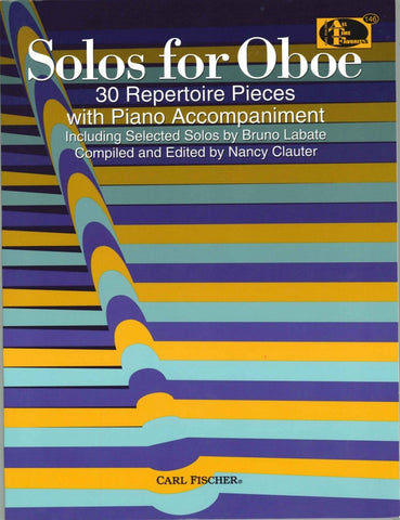 arrs. Whiting and Isaac, ed. Clauter - Solos for Oboe - Oboe and Piano
