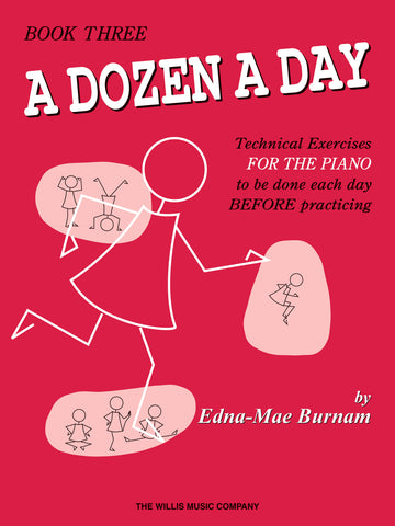A Dozen a Day, Book 3 - Piano Method
