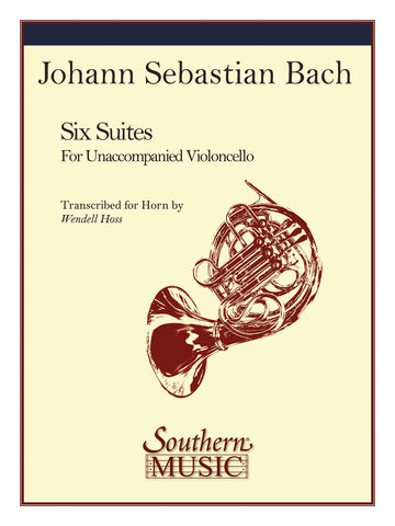 Bach, tr. Hoss - 6 Cello Suites - Horn and Piano