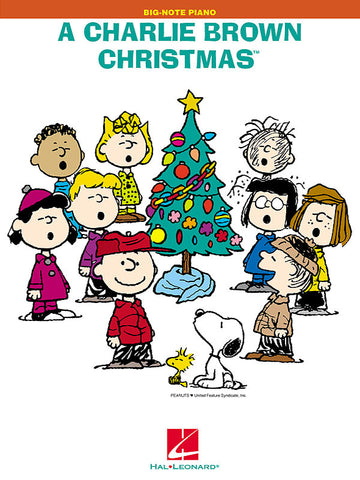 A Charlie Brown Christmas (TM) Big Note Songbook
