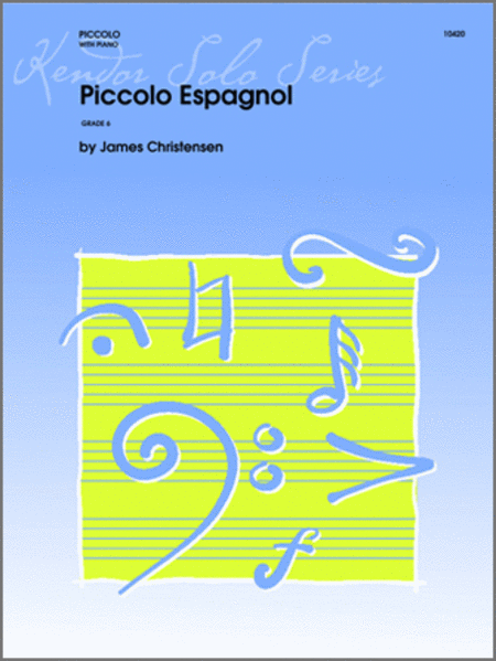 Christensen - Piccolo Espagnol - Piccolo (Flute) and Piano