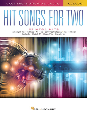 Deneff, arr. - Hit Songs for Two: 22 Mega Hits - 2 Cellos