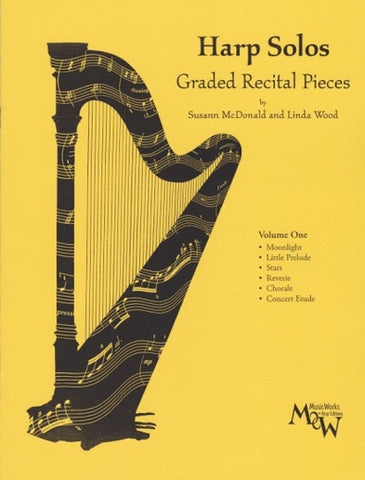 McDonald and Wood - Harp Solos: Graded Recital Pieces Vol. 1 - Harp