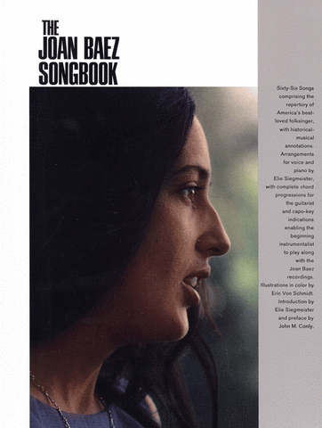 Baez – The Joan Baez Songbook – Piano, Vocal, Guitar